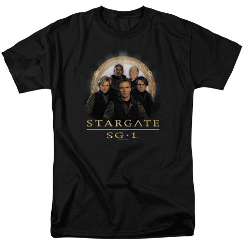 Stargate SG1-Team 100% cotton high quality pre shrunk machine washable t-shirt