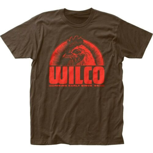 "WILCO, ""Rising Early Since '94"" Album Mens Unisex T-Shirt -Available in Sm to 2x 100% cotton high quality pre shrunk machine washable t-shirt"