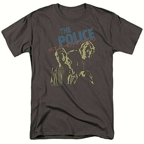 "The POLICE ""Japanese Poster"" Album Cover Mens Unisex T-Shirt -Available Sm to 3x 100% cotton high quality pre shrunk machine washable t-shirt"
