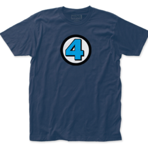 Fantastic 4 logo 100% Cotton High Quality Pre Shrunk Machine Washable T Shirt