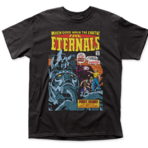 The Eternals-Eternals #1 100% Cotton High Quality Pre Shrunk Machine Washable T Shirt
