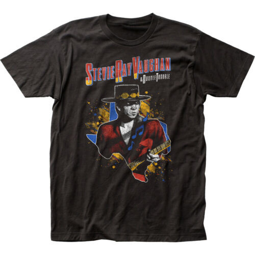 "Stevie Ray Vaughan ""1984 Tour"" Mens Unisex T-Shirt - Available in Sm to 2x 100% cotton high quality pre shrunk machine washable t-shirt"
