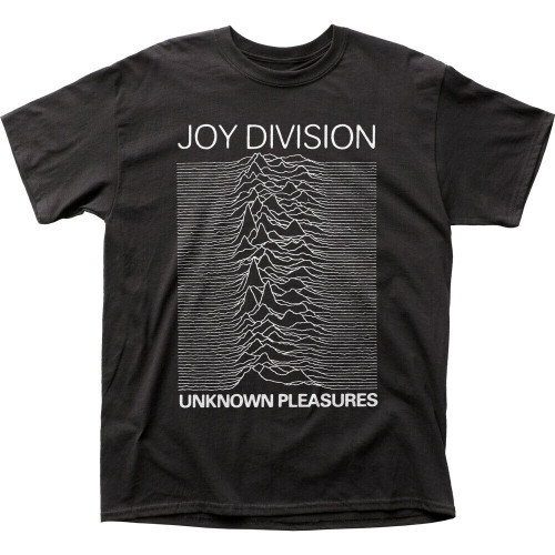 "Joy Division ""Unknown Pleasure"" Album Mens Unisex T-Shirt -Available in Sm to 2x 100% cotton high quality pre shrunk machine washable t-shirt"