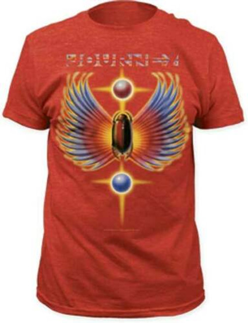 "Journey ""The Hits"" Album Cover Mens Unisex T-Shirt, Available in Sm to 2x 100% cotton high quality pre shrunk machine washable t-shirt"