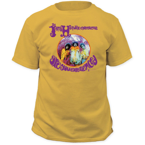 """JIMI HENDRIX """"ARE YOU EXPERIENCED?"""" Mens Unisex T-Shirt - Available in Sm to 2x 100% cotton high quality pre shrunk machine washable t-shirt"""