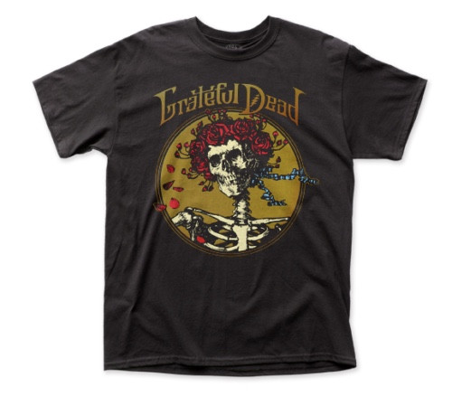 "GRATEFUL DEAD ""Grateful Skull"" Mens Unisex T-Shirt - Available in Sm to 2x 100% cotton high quality pre shrunk machine washable t-shirt"