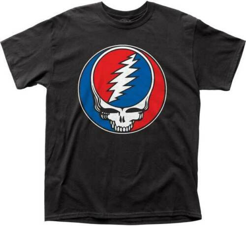 """GRATEFUL DEAD """"Steal Your Face"""" Mens Unisex T-Shirt - Available in Sm to 2x 100% cotton high quality pre shrunk machine washable t-shirt"""