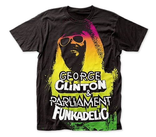 GEORGE CLINTON, FUNKADELIC /PARLIAMENT Men Unisex T-Shirt -Available in Sm to 2x 100% cotton high quality pre shrunk machine washable t-shirt
