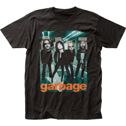 "Garbage ""Taped"" Album cover Mens Unisex T-Shirt -Available Sm to 2x 100% cotton high quality pre shrunk machine washable t-shirt"