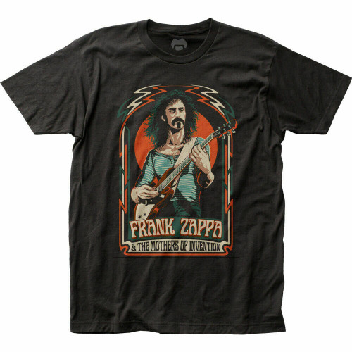 Frank Zappa Mother of Invention Mens Unisex Adult T-shirt -Available in Sm to 2x 100% cotton high quality pre shrunk machine washable t-shirt