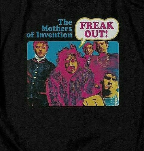 FRANK ZAPPA & The Mothers Of Invention Mens Unisex T-Shirt - Available Sm to 5x 100% cotton high quality pre shrunk machine washable t-shirt