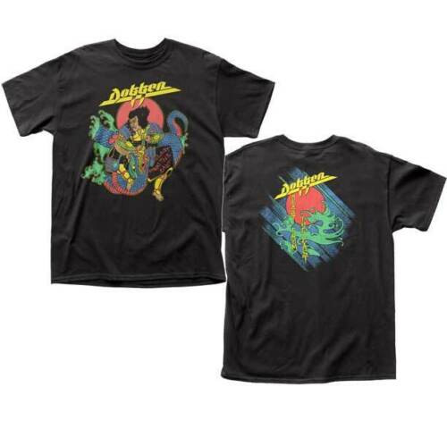 "DOKKEN ""BEAST FROM THE EAST"" Mens Unisex T-Shirt -Available Sm to 2x 100% cotton high quality pre shrunk machine washable t-shirt"