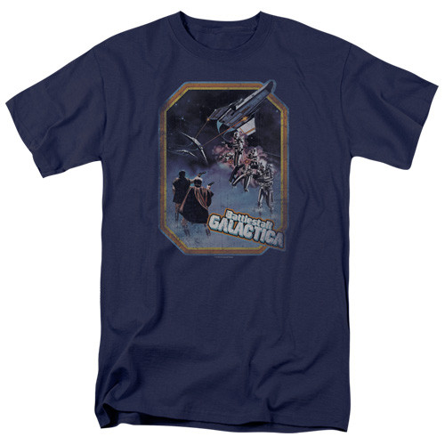Battlestar Galactica-Post Iron on 100% Cotton High Quality Pre Shrunk Machine Washable T Shirt