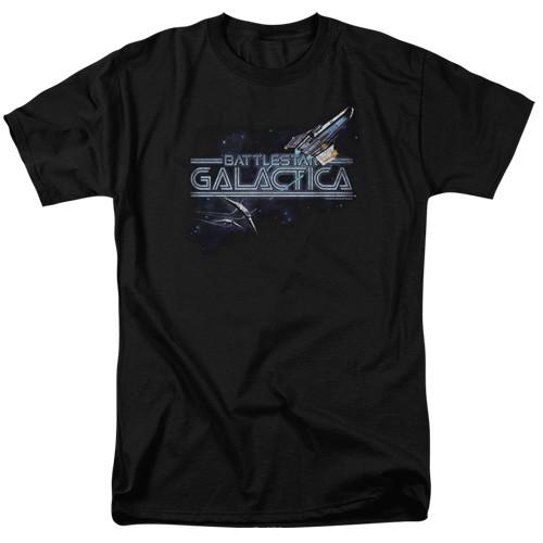 Battlestar Galactica-Cylon Persuit 100% Cotton High Quality Pre Shrunk Machine Washable T Shirt