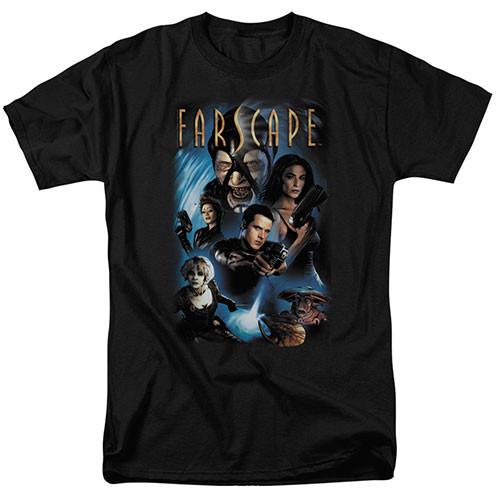 Farscape - Comic cover 100% Cotton High Quality Pre Shrunk Machine Washable T Shirt