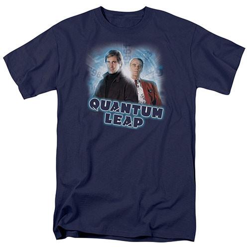Quantum Leap-Sam & Al 100% Cotton High Quality Pre Shrunk Machine Washable T Shirt