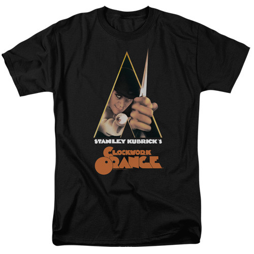 A clockwork orange-Poster 100% Cotton High Quality Pre Shrunk Machine Washable T Shirt