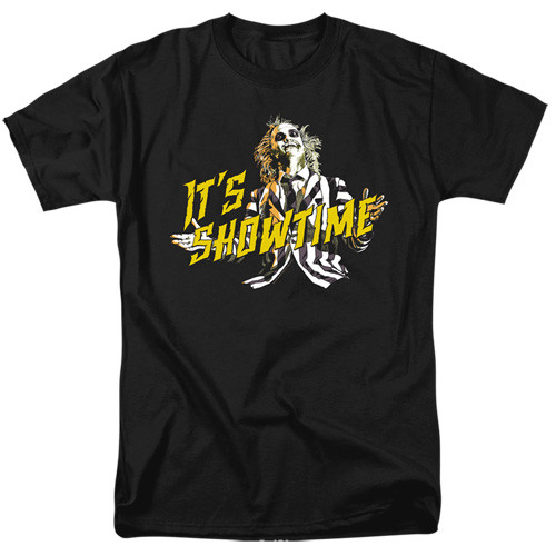Beetlejuice-showtime 100% Cotton High Quality Pre Shrunk Machine Washable T Shirt