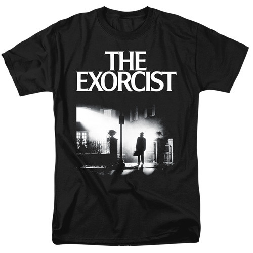 The Exorcist-Poster 100% Cotton High Quality Pre Shrunk Machine Washable T Shirt