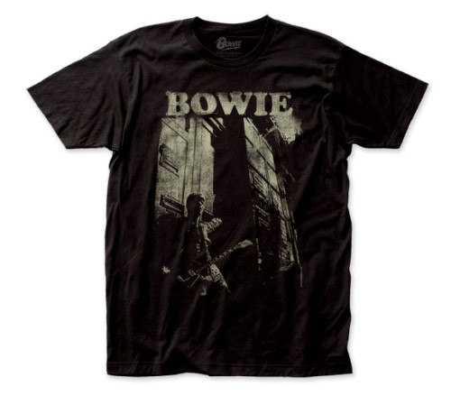 "David Bowie ""Guitar"" Album Cover Mens Unisex T-Shirt -Available Sm to 2x 100% cotton high quality pre shrunk machine washable t-shirt"