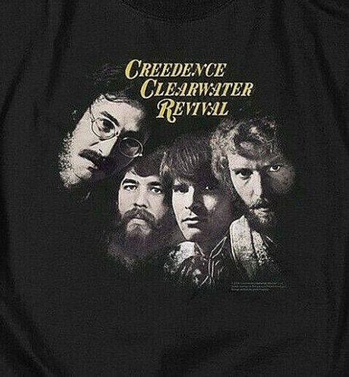 "Creedence Clearwater Revival ""Pendulum"" Mens T-Shirt, Available in Sm to 5x 100% cotton high quality pre shrunk machine washable t-shirt"