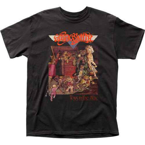 """Areosmith """"Toys in the Attic"""" Mens Unisex T-Shirt -Available in Sm to 2x 100% cotton high quality pre shrunk machine washable t-shirt"""