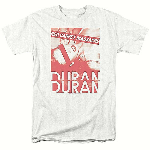 "Duran Duran ""RED CARPET MASSACRE"" Mens Unisex T-Shirt - Available Sm to 3x 100% cotton high quality pre shrunk machine washable t-shirt"