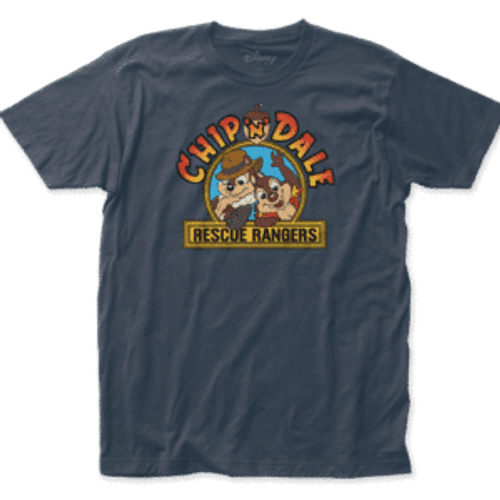 Disney-Chip and Dale Rescue Rangers 100% Cotton High Quality Pre Shrunk Machine Washable T Shirt