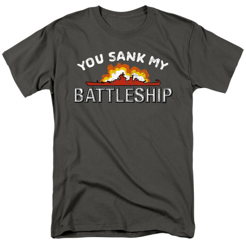 """Battleship Game """"You Sank My"""" Mens Unisex T-Shirt, Available Sm to 3x 100% Cotton High Quality Pre Shrunk Machine Washable T Shirt"""