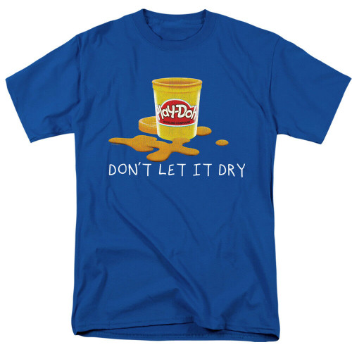 "Play-doh ""Don;t let it dry"" Mens Unisex T-Shirt, Available Sm to 3x 100% Cotton High Quality Pre Shrunk Machine Washable T Shirt"