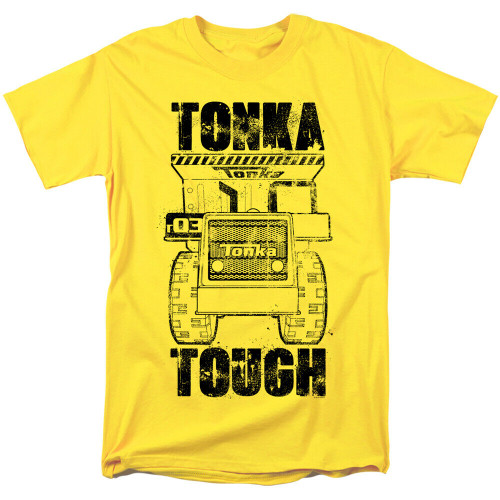 "Tonka Trucks ""Tonka Tough"" Mens Unisex T-Shirt, Available Sm to 3x 100% Cotton High Quality Pre Shrunk Machine Washable T Shirt"