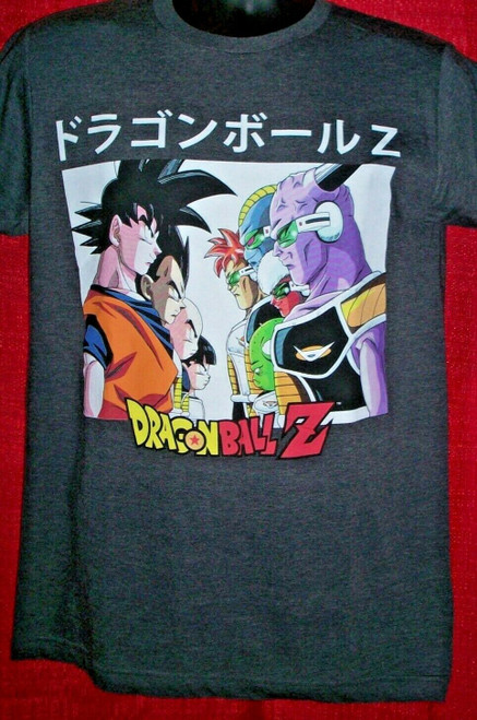 "Dragonball Z ""Face Off"" Mens Adult Unisex T-Shirt - available Sm to xL 100% Cotton High Quality Pre Shrunk Machine Washable T Shirt"