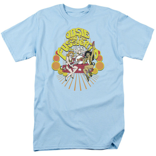 Josie & the Pussycats Performing Adult Mens Unisex T-Shirt, Available Sm to 3x 100% Cotton High Quality Pre Shrunk Machine Washable T Shirt