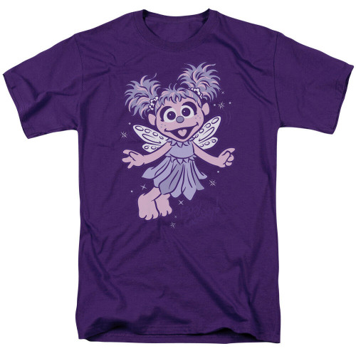 "Sesame Street ""Abby Cadabby"" Mens Unisex T-Shirt Available in Sm to 3x 100% Cotton High Quality Pre Shrunk Machine Washable T Shirt"
