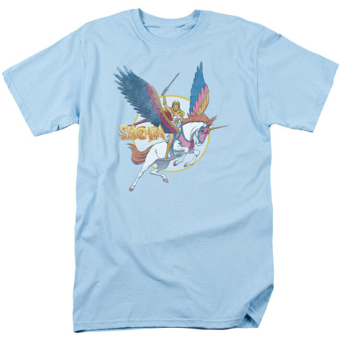 She-Ra and Swiftwind Adult Mens Unisex T-Shirt, Available Sm to 3x 100% Cotton High Quality Pre Shrunk Machine Washable T Shirt