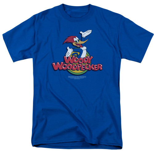 Woody Woodpecker Mens Adult Unisex T-Shirt -Available in Sm to 3x 100% Cotton High Quality Pre Shrunk Machine Washable T Shirt