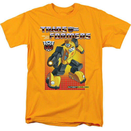 "Transformers ""Bumble Bee"" Mens Adult Unisex T-Shirt -Available sm to 3x 100% Cotton High Quality Pre Shrunk Machine Washable T Shirt"