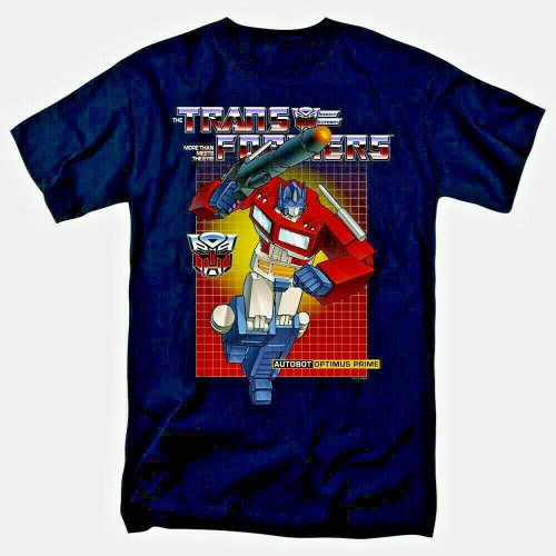 "Transformers ""Optimus Prime"" Mens Adult Unisex T-Shirt -Available sm to 4x 100% Cotton High Quality Pre Shrunk Machine Washable T Shirt"