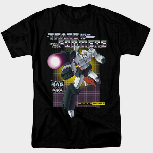 "Transformers ""Megatron"" Mens Adult Unisex T-Shirt -Available sm to 3x 100% Cotton High Quality Pre Shrunk Machine Washable T Shirt"