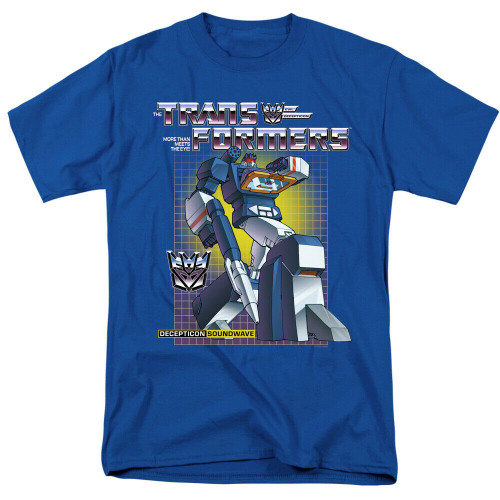 "Transformers ""Soundwave"" Mens Adult Unisex T-Shirt -Available sm to 3x 100% Cotton High Quality Pre Shrunk Machine Washable T Shirt"