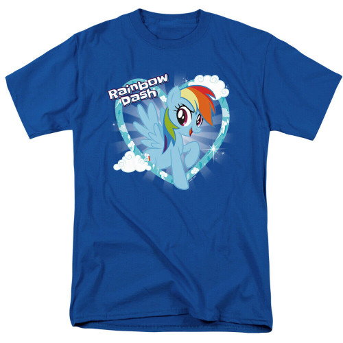 "My Little Pony ""Rainbow Dash"" Mens T-Shirt, Available Sm to 3x 100% Cotton High Quality Pre Shrunk Machine Washable T Shirt"