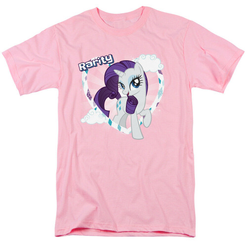 "My Little Pony ""Rarity"" Mens T-Shirt, Available Sm to 3x 100% Cotton High Quality Pre Shrunk Machine Washable T Shirt"
