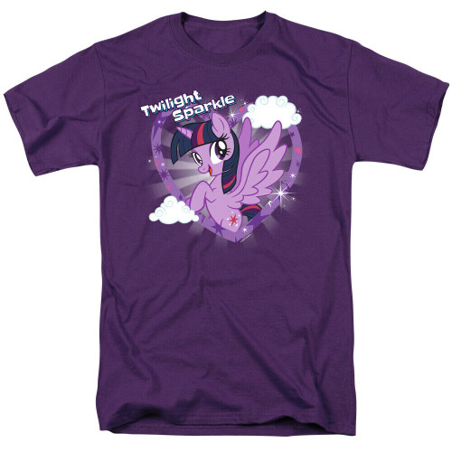 """My Little Pony """"Twilight Sparkle"""" Mens T-Shirt, Available Sm to 3x 100% Cotton High Quality Pre Shrunk Machine Washable T Shirt"""