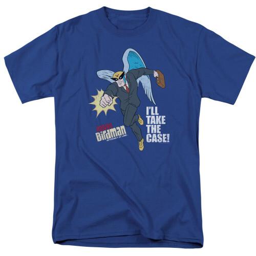 "Harvey Birdman ""I'll Take the Case"" Adult Unisex T-Shirt -Available Sm to 3x 100% Cotton High Quality Pre Shrunk Machine Washable T Shirt"