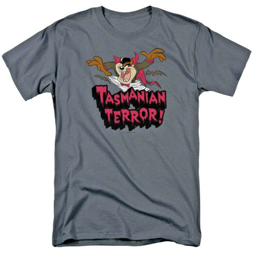 "Looney Tunes Looney Tunes Taz ""Tasmanian Terror"" Mens Unisex T-Shirt, sm-3x 100% Cotton High Quality Pre Shrunk Machine Washable T Shirt"