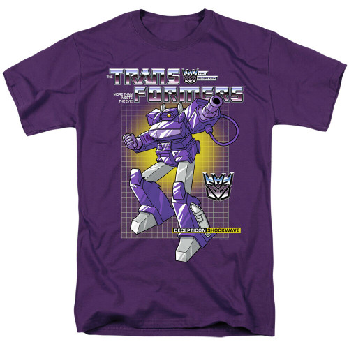 "Transformers ""Shockwave"" Mens Adult Unisex T-Shirt -Available sm to 3x 100% Cotton High Quality Pre Shrunk Machine Washable T Shirt"