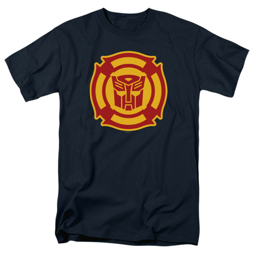 "Transformers ""Fire Rescue"" Mens Adult Unisex T-Shirt -Available sm to 3x 100% Cotton High Quality Pre Shrunk Machine Washable T Shirt"