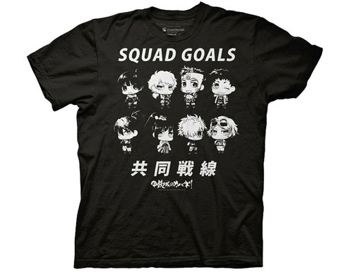 "KABANERI OF THE IRON FORTRESS ""CHIBI SQUAD"" Mens T-Shirt-Available Sm to 2x 100% Cotton High Quality Pre Shrunk Machine Washable T Shirt"