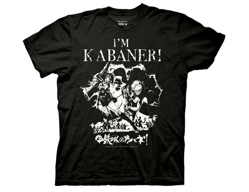 "KABANERI OF THE IRON FORTRESS ""IM KABANERI IKOMA AND MUM"" Mens T-Shirt- Sm to 2x 100% Cotton High Quality Pre Shrunk Machine Washable T Shirt"