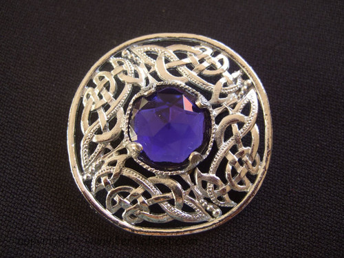 Celtic Stone Brooch